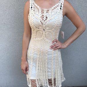NWT Free People Boho Crochet Dress